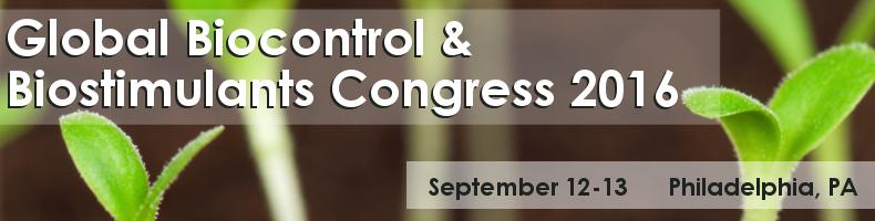 Global Biocontrol & Biostimulants Congress